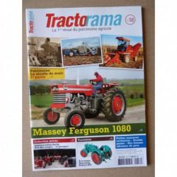 Tractorama n°58, Massey Ferguson 1080, le maïs, Damien Éric Bailly, Le Duvant de Bougival