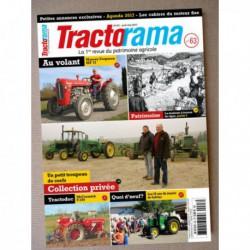 Tractorama n°63, Massey Ferguson MF37, Someca DA50L, moteur Capitaine, Michel Milcent