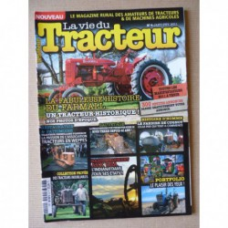 La Vie du Tracteur n°4, McCormick Farmall, Fiat Trattori, Joseph Cugnot, Saint Chamond TC25, Vendeuvre Super DD