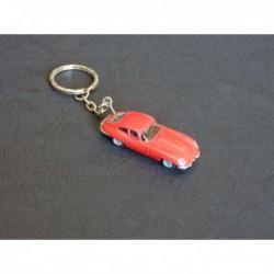 Porte-clés Jaguar Type E. 1/87e HO, rouge