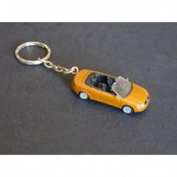 Porte-clés Audi A4 A6 Cabriolet, B5 C5. 1/87e HO