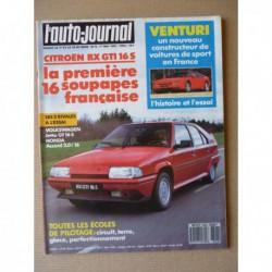 Auto-Journal n°08-87, MVS Venturi, Volkswagen Jetta GT 16S, Opel Kadett GSi convertible, Honda Prelude EX 4WS