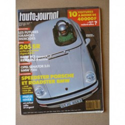 Auto-Journal n°18-87, Peugeot 205 SR, BMW M3, Opel Senator 3.0i, BMW 730i, Lada 2105, Polski Montana, Seat Marbella 903
