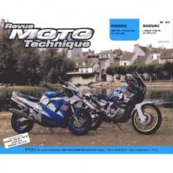 RMT Honda XRV750 Africa-Twin. Suzuki GSX-R 1100W