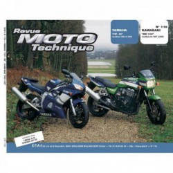 RMT Yamaha YZF-R6. Kawasaki ZRX1100