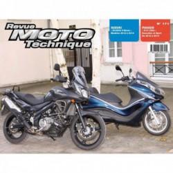 RMT Suzuki DL 650A V-Strom. Piaggio X10 125i Executive, Sport