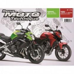 RMT Kawasaki ER-6f et ER-6n. Honda CB500FA, CBR500RA