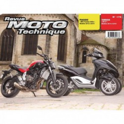 RMT Piaggio MP3 Yourban 300ie. Yamaha MT-07