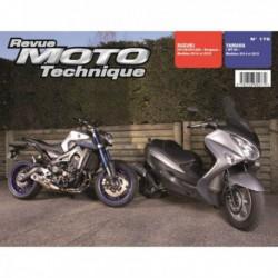 RMT Suzuki UH125, UH125A Burgman. Yamaha MT-09