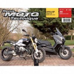 RMT Yamaha MBK Xmax, Evolis 400. BMW R nineT