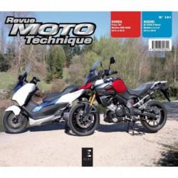 RMT Honda Forza 125. Suzuki DL1000A V-Strom