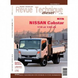 RTD Nissan Cabstar 110ch et 130ch