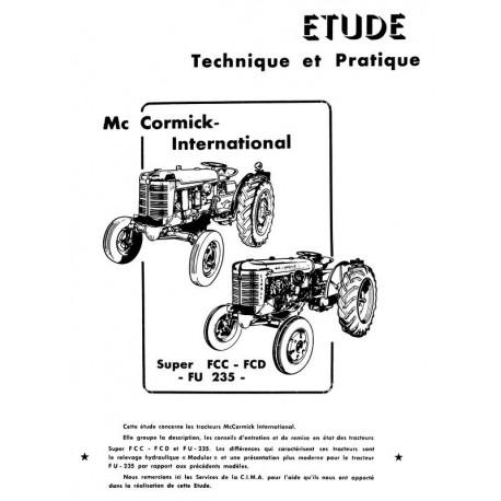 Revue Technique McCormick Super FC-C, FC-D, FU-235, FU-235D