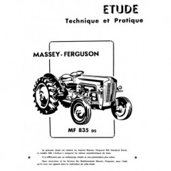 Revue Technique Massey-Ferguson MF-835