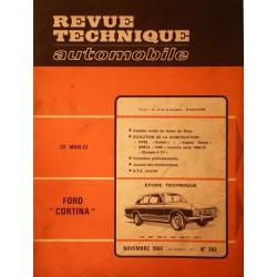RTA Ford Cortina MKII tous types