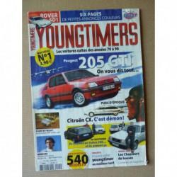 Youngtimers n°1, Peugeot 205 Gti, Honda CRX 1.6i-16, Porsche 944, Rover 2600S, Volvo 240 break