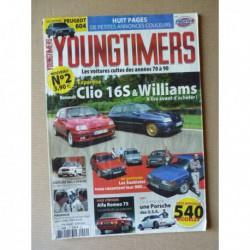 Youngtimers n°2, Renault Clio 16S, Williams, Citroën Visa II Chrono, Mercedes 500SL R107, Peugeot 604 V6 SL, Saab 900