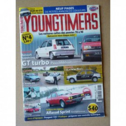 Youngtimers n°4, Renault 5 GT turbo, Alfa Romeo Sprint, Honda NSX, Audi 80 GTE quattro, Citroën GS GSA