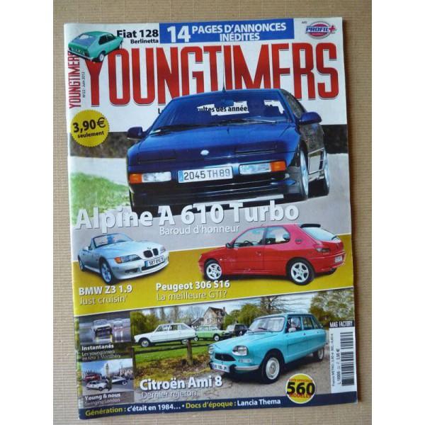Bmw Z3 Brochure: Youngtimers N°22, Peugeot 306 S16, BMW Z3, Alpine A610