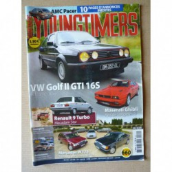 Youngtimers n°46, Volkswagen Golf II GTI 16S, Renault 9 Turbo, Maserati Ghibli 2.0, AMC Pacer V8, Mercedes w124