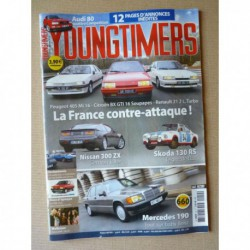 Youngtimers n°50, Mercedes 190 w201, Skoda 130RS, Nissan 300ZX Twin Turbo, Audi 80 quattro Competition