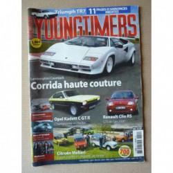 Youngtimers n°55, Renault Clio RS 2.0, Opel Kadett C GT/E, Lamborghini Countach, Triumph TR7 cabriolet, Citroën Mehari