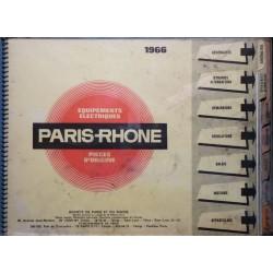 Paris-Rhône, catalogue général 1966