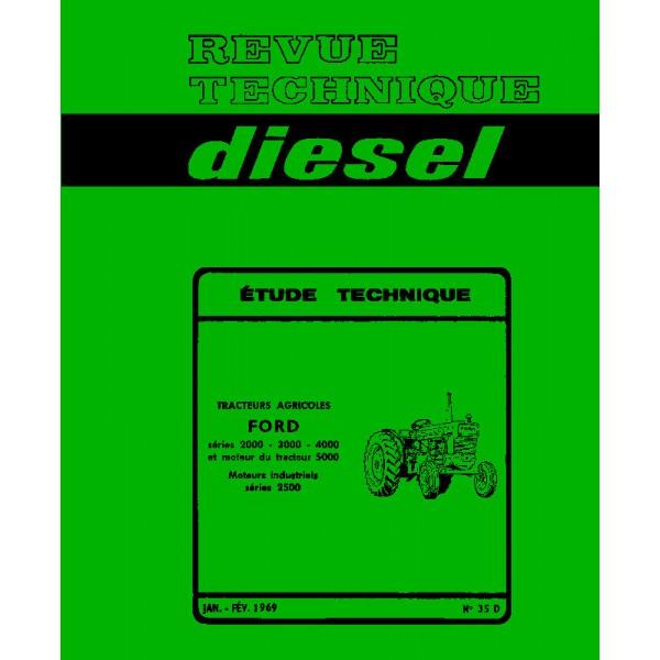 Manuels, Revues, Catalogues Revue Technique Tracteur Ford 2000 3000 4000 5000 Dexta Major Super