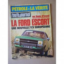 Auto-Journal n°5-75, Ford Escort GL, Polski Fiat 125P Kombi, Polski 1500, Volga M24, Zastava 101, Lada 1500