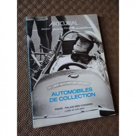 catalogue Artcurial 2005, automobile de collection, enchère sale