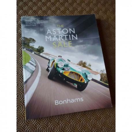 catalogue Bonhams 2016, Aston Martin et Lagonda, enchère sale