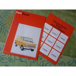 Ford Transit, catalogue brochure dépliant