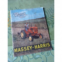 Massey-Harris Pony, catalogue brochure dépliant