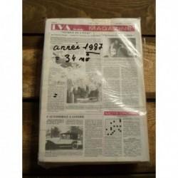 LVA La Vie de l'Auto 1987, 34 numéros