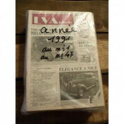 LVA La Vie de l'Auto 1991, année complète, 47 numéros