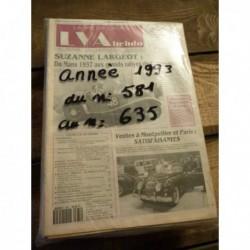 LVA La Vie de l'Auto 1993, année complète, 47 numéros