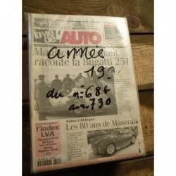 LVA La Vie de l'Auto 1994, année complète, 47 numéros