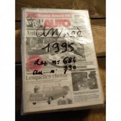 LVA La Vie de l'Auto 1995, année complète, 47 numéros