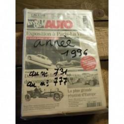LVA La Vie de l'Auto 1996, année complète, 47 numéros