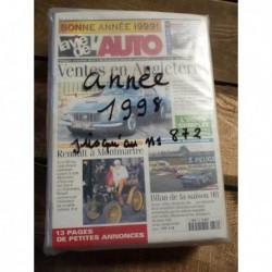 LVA La Vie de l'Auto 1998, année complète, 48 numéros