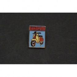 pin's Lambretta, LD125, LD150 LD LC 125 150. Blason