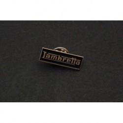 pin's Lambretta, LD125, LD150 LD LC 125 150. Noir