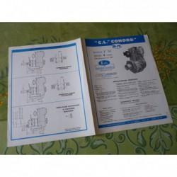 CL Conord F51, Bernard Moteurs, catalogue brochure dépliant