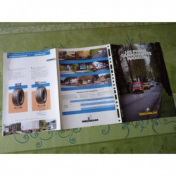 Michelin camionnettes, catalogue brochure dépliant