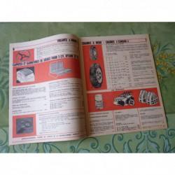 Accessoires Gaubert Auto 1968, catalogue brochure dépliant