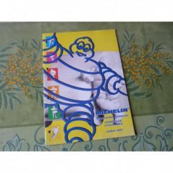 Michelin utilitaires 1997, catalogue brochure dépliant