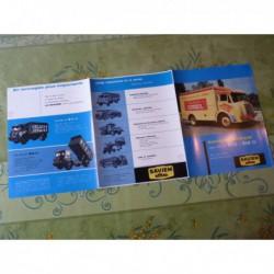 camions Saviem H14 A1 B5D B6RD B6R, catalogue brochure