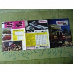 camions Saurer Rhône 130cv ZS7 ZS9, catalogue brochure
