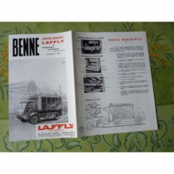 camions benne Laffly, catalogue brochure