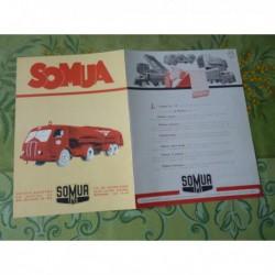 camions Somua JL17, catalogue brochure